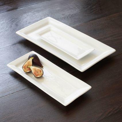 Sur La Table Blanc Rectangular Serving Platter