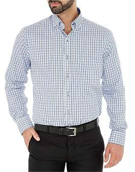 Ganton Button Collar With Placket And