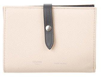 Céline 2016 Medium Multifunction Strap Wallet
