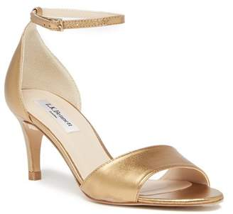 LK Bennett Omya Leather Ankle Strap Sandal