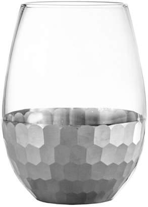 Jay Import Daphne Platinum Set Of 4 Stemless Goblets