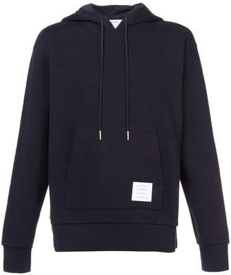 Thom Browne centre-back stripe hoodie