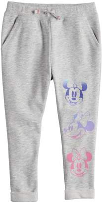 Disney's Minnie Mouse Toddler Girl Glittery Graphic Pants by Jumping Beans