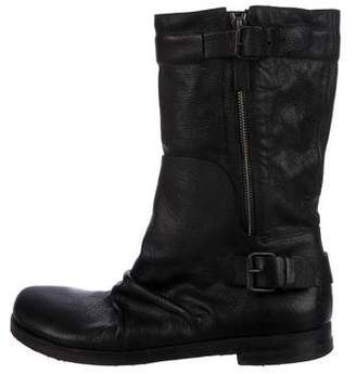 Marsèll Leather Mid-Calf Boots
