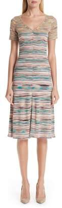 Missoni Stripe Wool Blend Dress