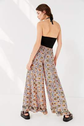 Urban Outfitters Electra Sequin Wide-Leg Pant