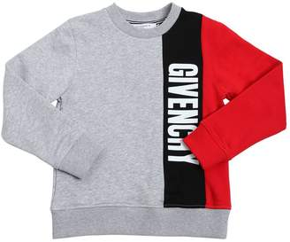 Givenchy Tricolor Cotton Sweatshirt