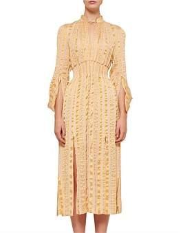KITX Song Lines Shirred Dress