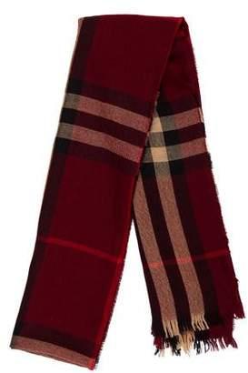 Burberry Knit Nova Check Scarf