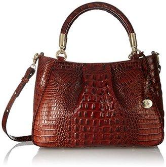 Brahmin Ruby Satchel Bag $325 thestylecure.com