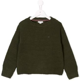 Tommy Hilfiger Junior textured knit jumper