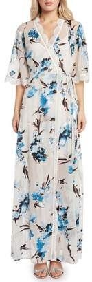 Willow & Clay Wrap Maxi Dress