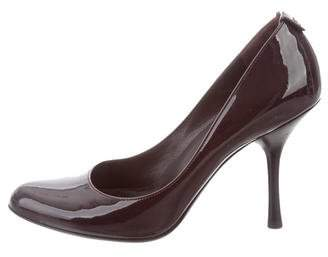 Gucci GG Patent Leather Pumps