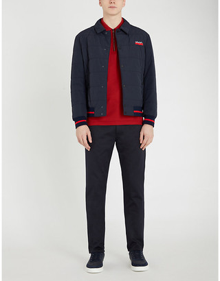 HUGO Quilted shell-down jacket
