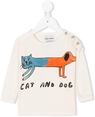 Bobo Choses cat and dog T-shirt