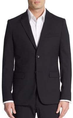 Theory Regular-Fit Xylo NP Stretch Wool Sportcoat