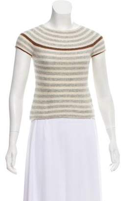 TOMORROWLAND Cashmere Striped Top