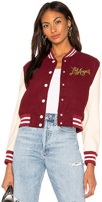 KENDALL + KYLIE Los Angeles Letterman Jacket