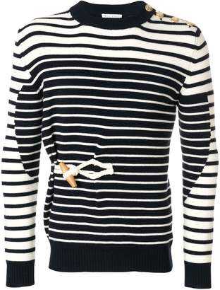 J.W.Anderson toggle-detail Mariniere jumper