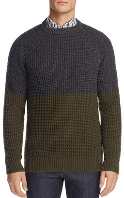 Barbour x Wood Wood Barns Crewneck Sweater - 100% Exclusive $199 thestylecure.com