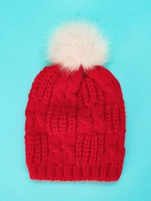 a5a8e13757d Shein Pom-Pom Decorated Beanie Hat