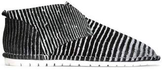 Marsèll striped slip-on sneakers