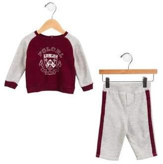 Ralph Lauren Boys' Logo Knit Pant Set