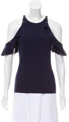Jonathan Simkhai Cold-Shoulder Knit Top