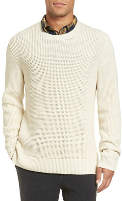 VINCE. Rib Knit Cotton Pullover $345 thestylecure.com