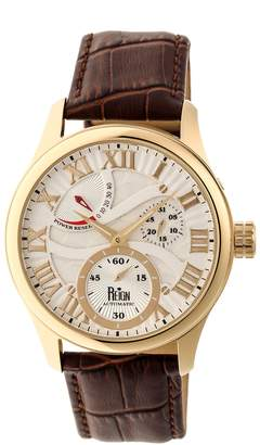 Reign Bhutan Automatic Watch - Goldtone/Silver