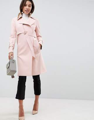 Asos Design Bonded Mac with D-Rings