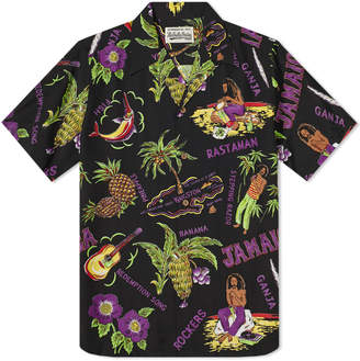 Wacko Maria Short Sleeve Jamaica Hawaiian Shirt