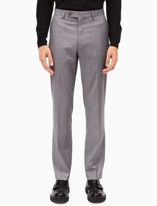 Calvin Klein slim fit light grey dress pants