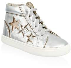 Old Soles Little Girl's & Girl's Stardom High Top Sneakers