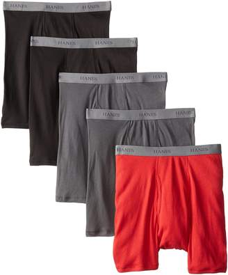 Hanes Men's 5-Pack Ultimate Fashion Boxer Briefs