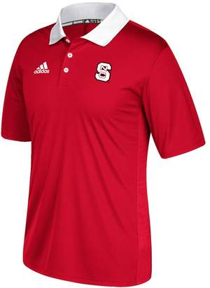 adidas Men's North Carolina State Wolfpack Coaches Polo