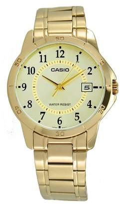 Casio Men's MTPV004G-9B Stainless-Steel Quartz Watch