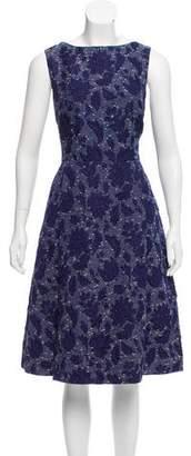 Oscar de la Renta Spring 2016 Jacquard Dress