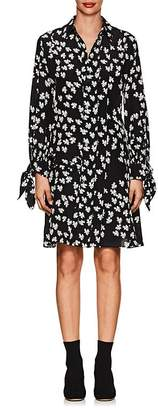 Derek Lam Women's Floral Silk Shirtdress