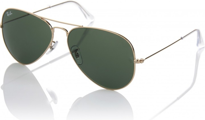Ray-Ban ICONIC 58 AVIATOR LARGE SUNGLASSES