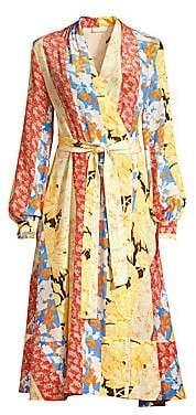 Stine Goya Women's Reflection Floral Wrap Dress