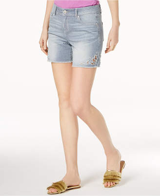 INC International Concepts I.n.c. Railroad-Stripe Shorts, Created for Macy's