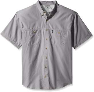 G.H. Bass & Co. Men's Size Big Explorer Short Sleeve Fishing Shirt