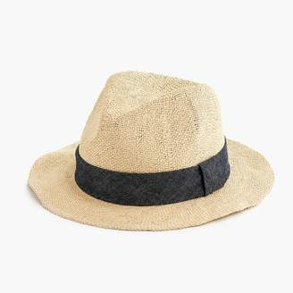J.Crew Packable panama hat