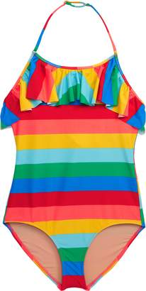 J.Crew crewcuts by Olivia Bold Stripe One-Piece Swimsuit