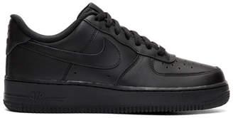 Nike Black Air Force 1 07 Sneakers