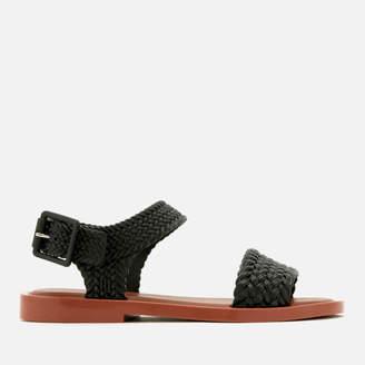 63847ccc7409d9 Melissa Women s Salinas Mar Braid Double Strap Sandals - Black