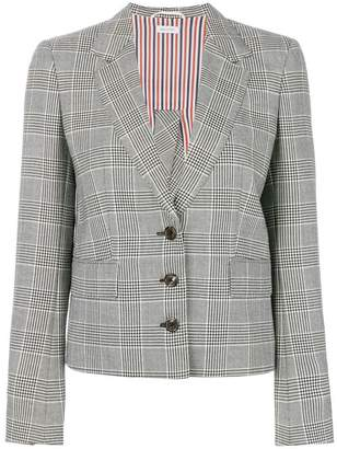 Thom Browne Trompe L'oeil Jacket With Back Bow