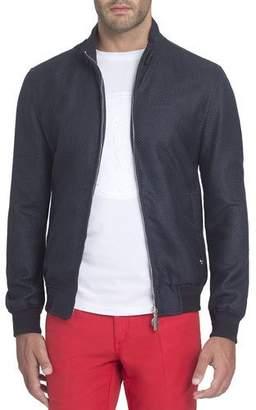 Stefano Ricci Mock-Neck Bomber Jacket