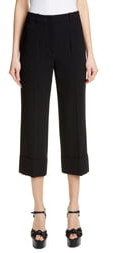 Michael Kors COLLECTION Cuffed Crop Pants